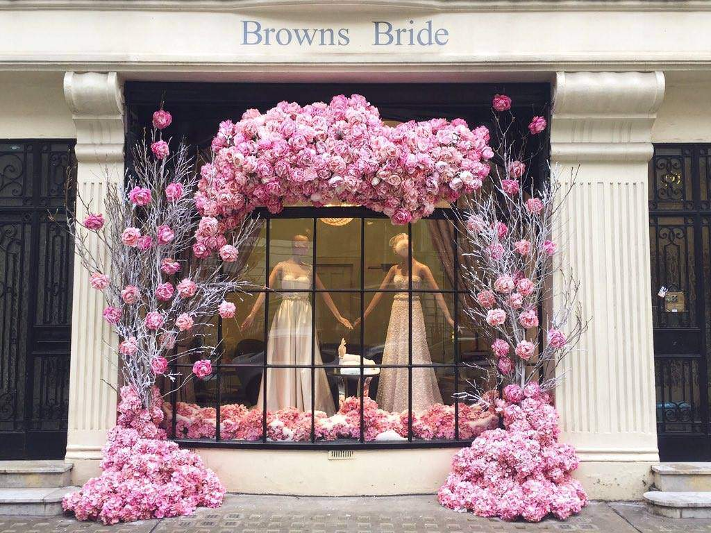 Browns Bride window 2015