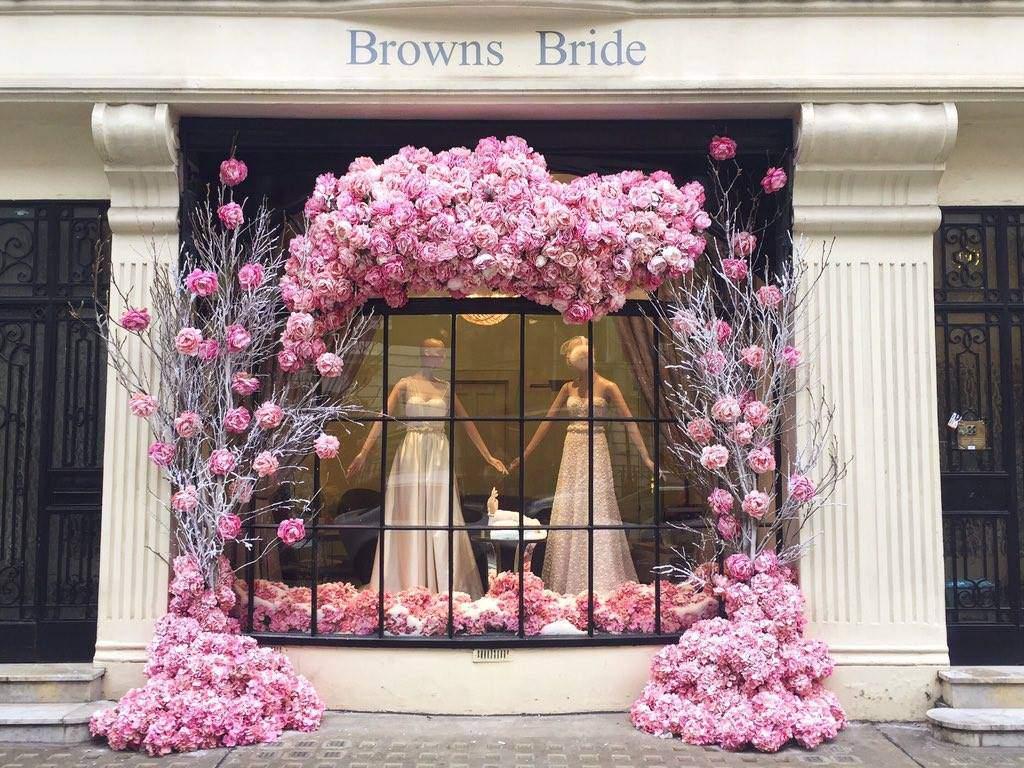 Browns Bride window 2015
