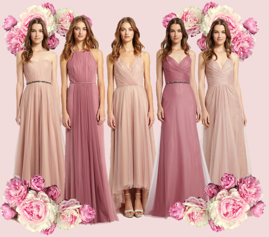 MONIQUE LHUILLIER BRIDESMAID DRESSES
