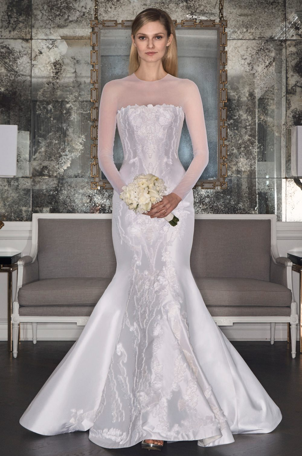 7c158a9d0c3d7 Romona Keveza RK7493 wedding dress - Browns Bride