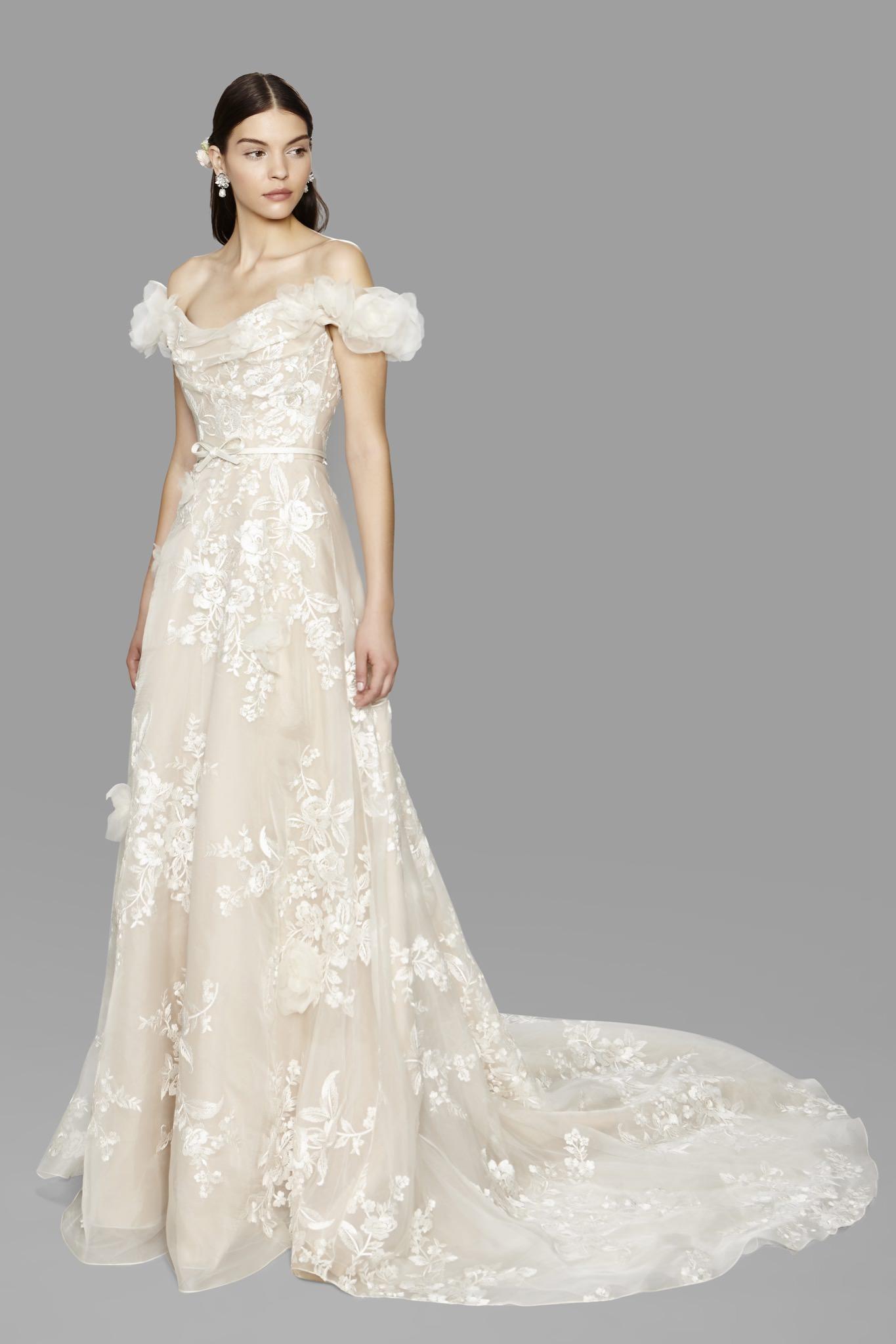 Marchesa Melrose wedding dress - Browns Bride