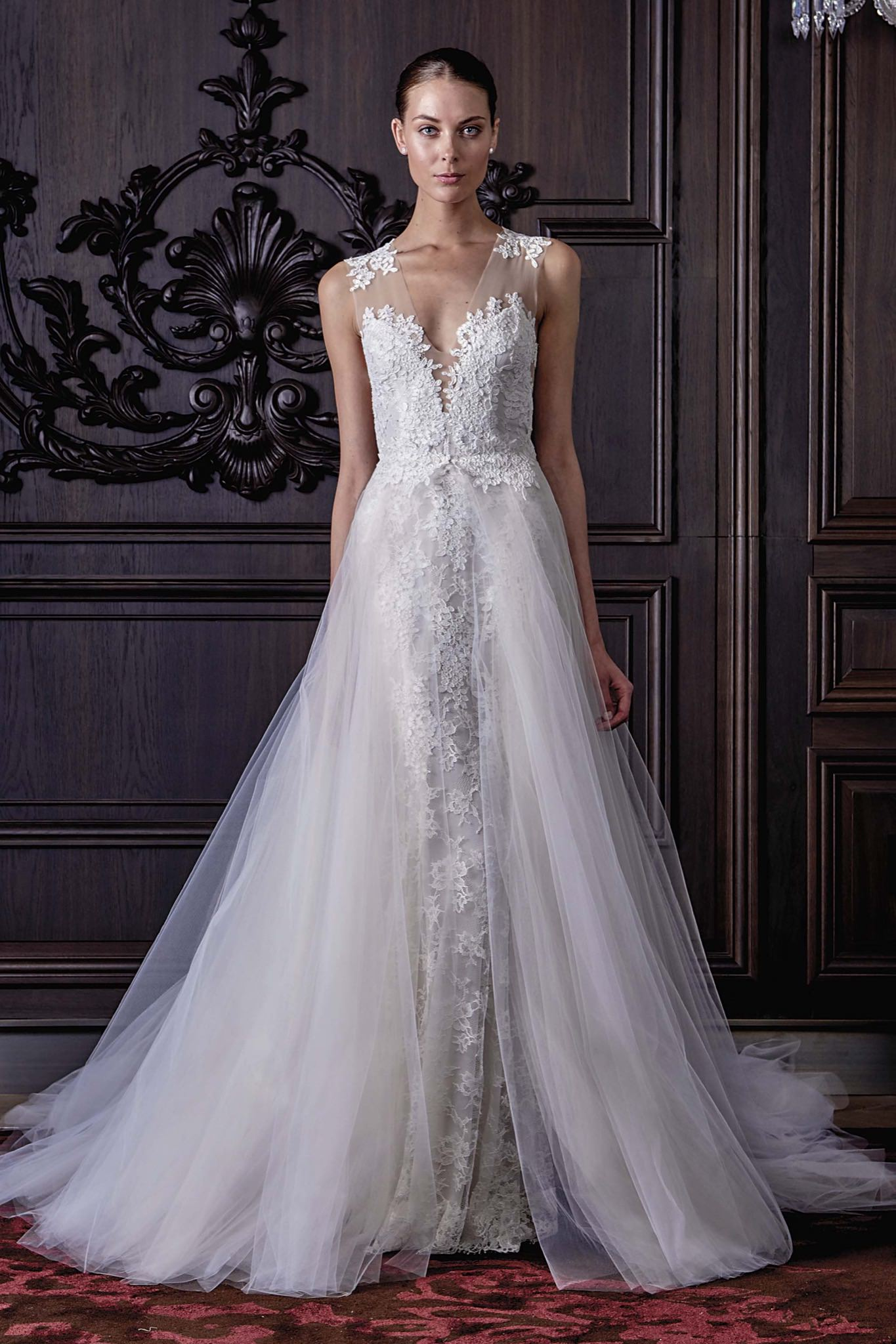 Monique Lhuillier Lamour wedding dress - Browns Bride