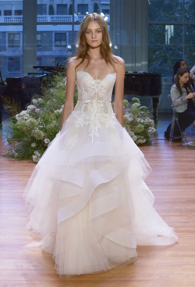 Monique Lhuillier Tresor Wedding Dress Price Available On Request