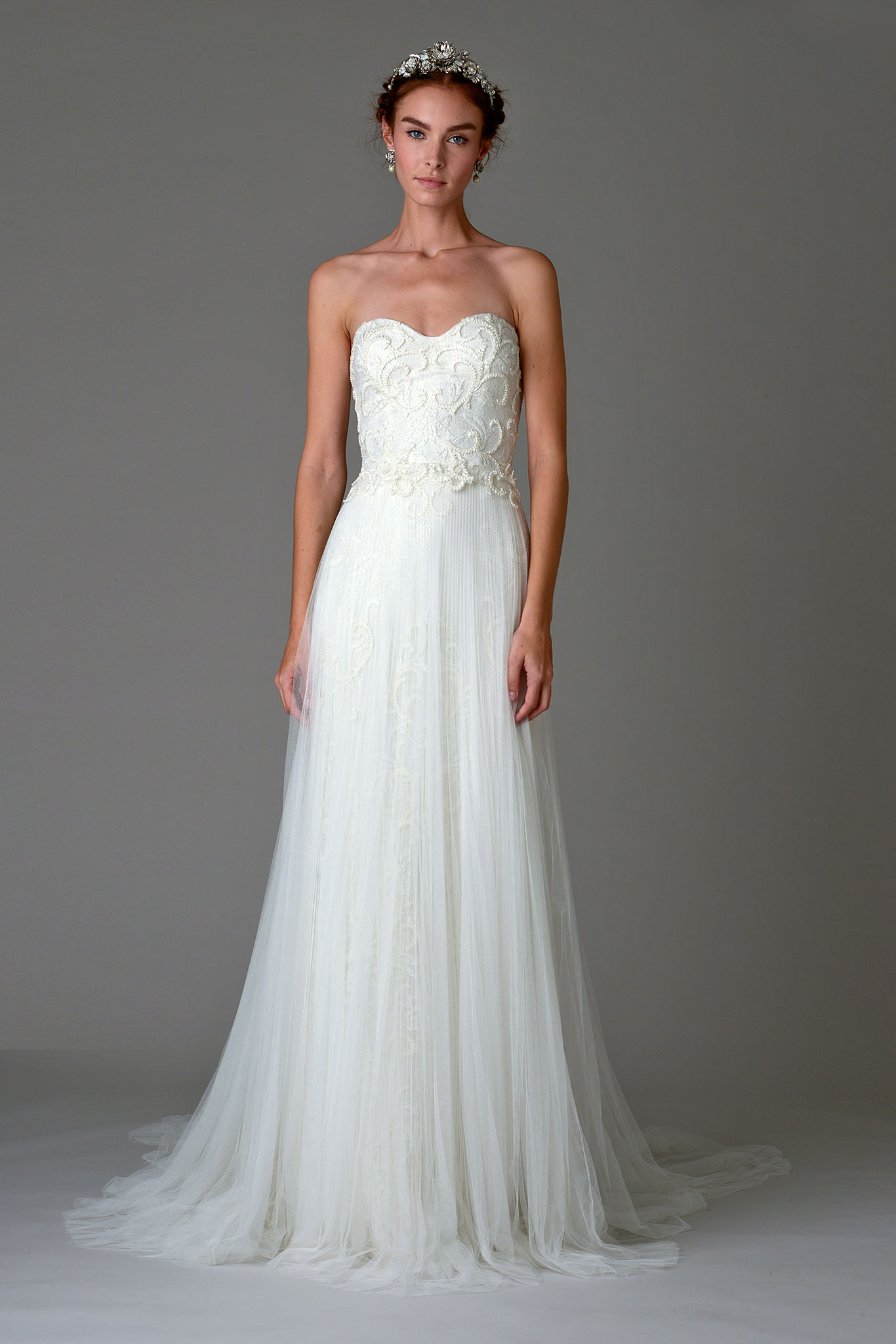 Marchesa Thistle Wedding Dress