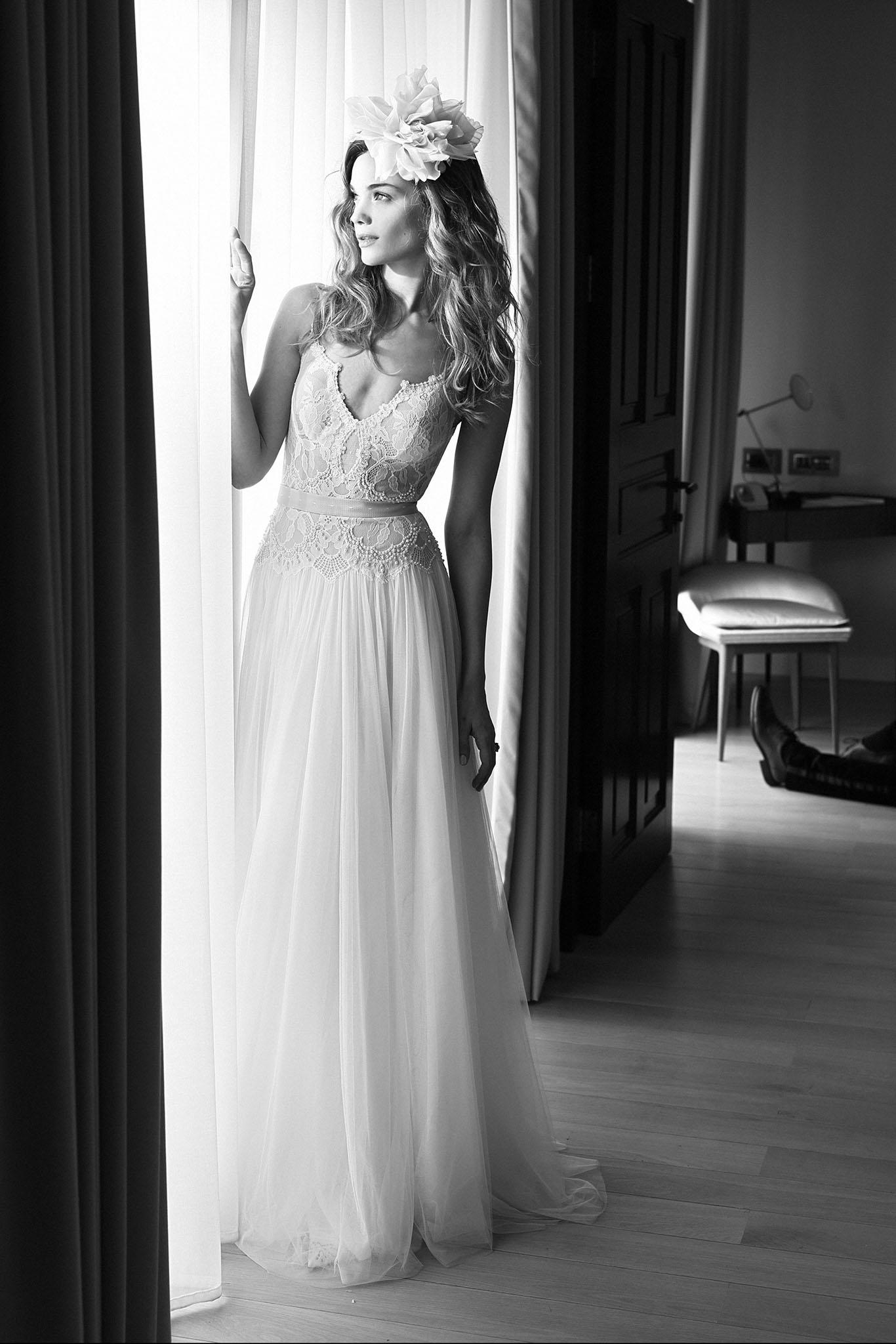 Lihi Hod Midnight Ballerina wedding dress - Browns Bride