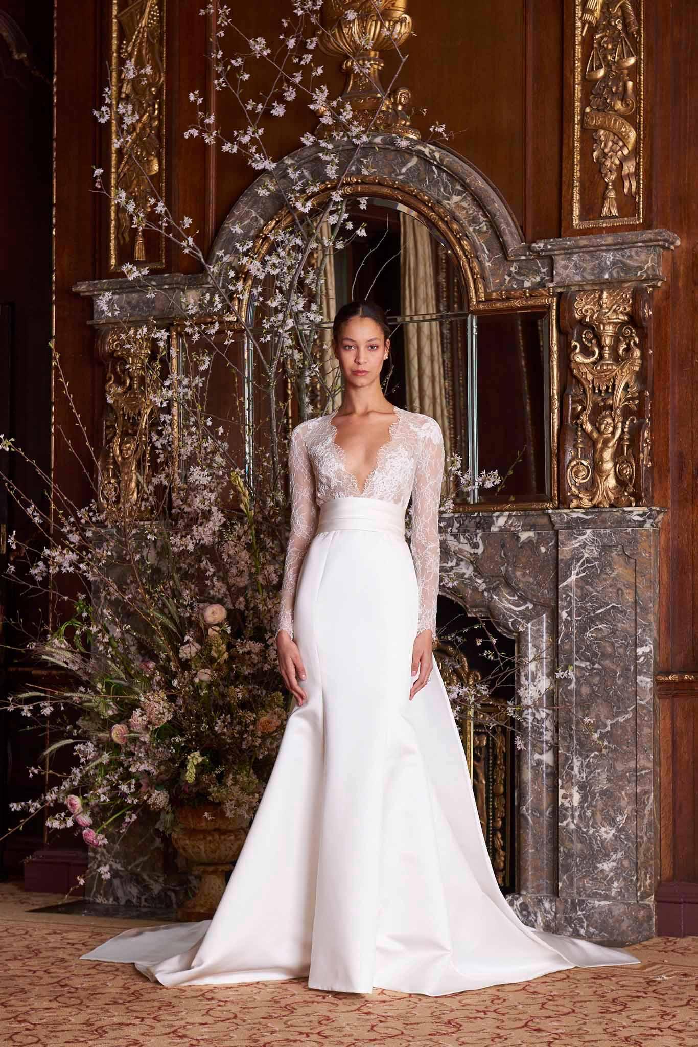 9eb7fdffb Monique Lhuillier Albertine wedding dress