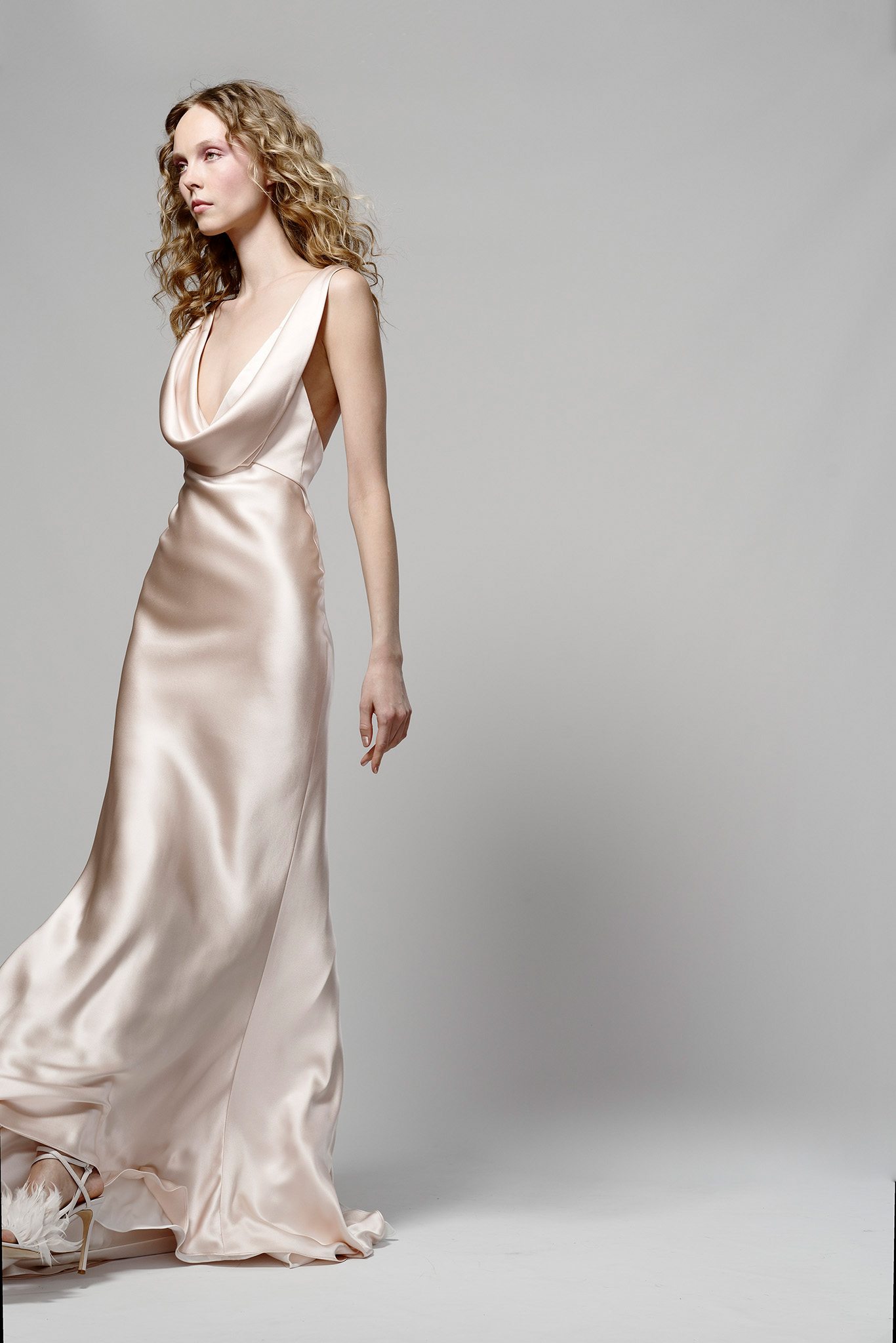 3ad03bdeb841e Elizabeth Fillmore Phoebe wedding dress - Browns Bride