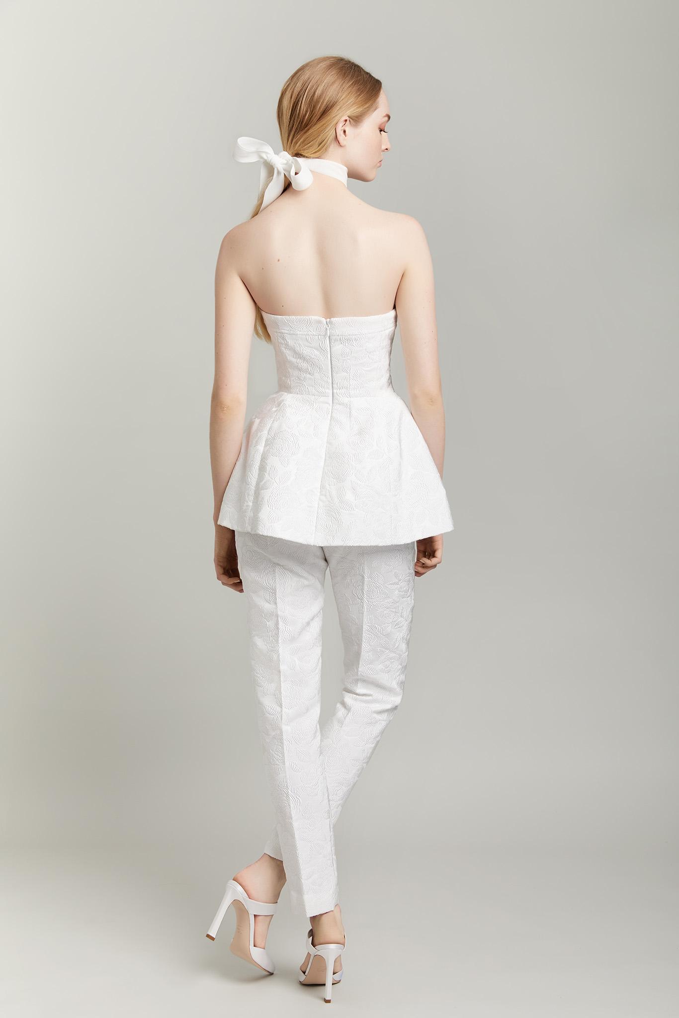 Lela Rose Two Piece Pant Suit