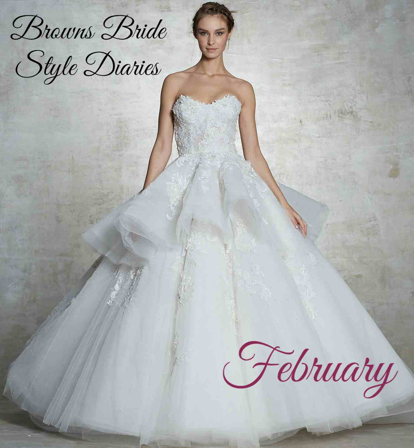 9bf2855a8 BROWNS BRIDE STYLE DIARIES - FEBRUARY 2019 - Browns Bride