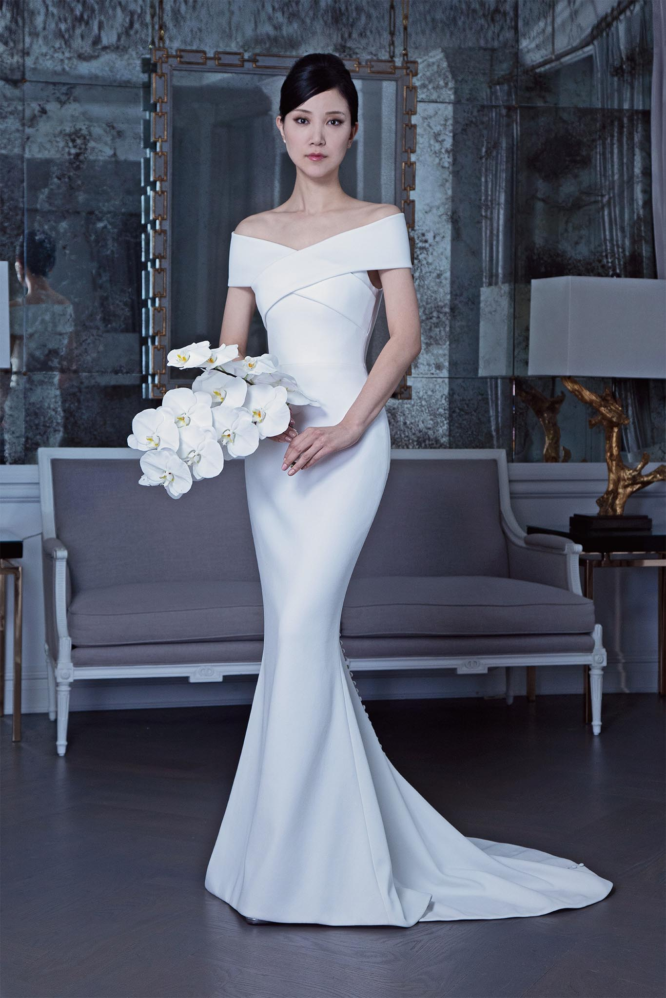 e97efc5922e81 Romona Keveza RK9503 wedding dress. Price available on request