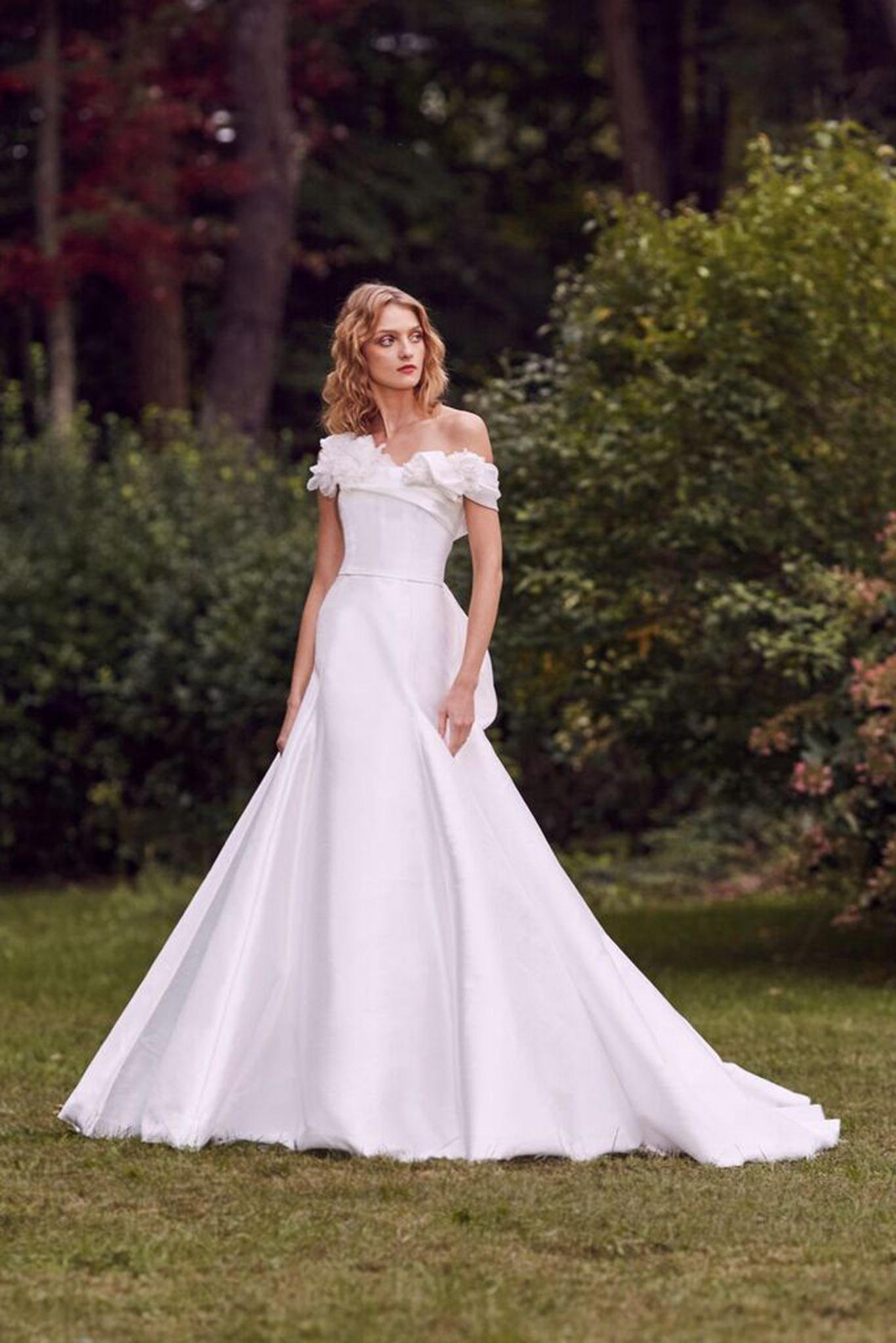 Marchesa Diana Wedding Dress Browns Bride