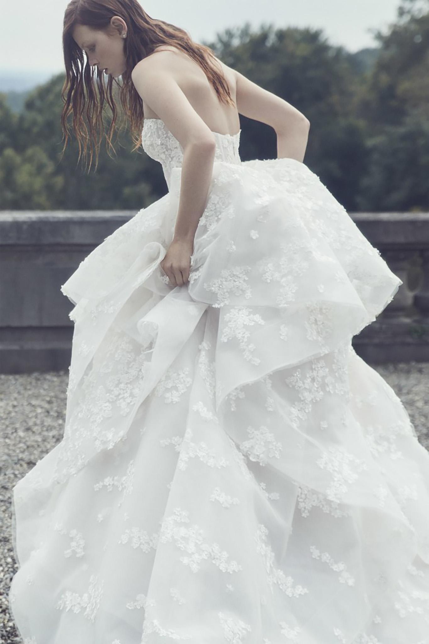 65f1d5007 Monique Lhuillier Everest wedding dress
