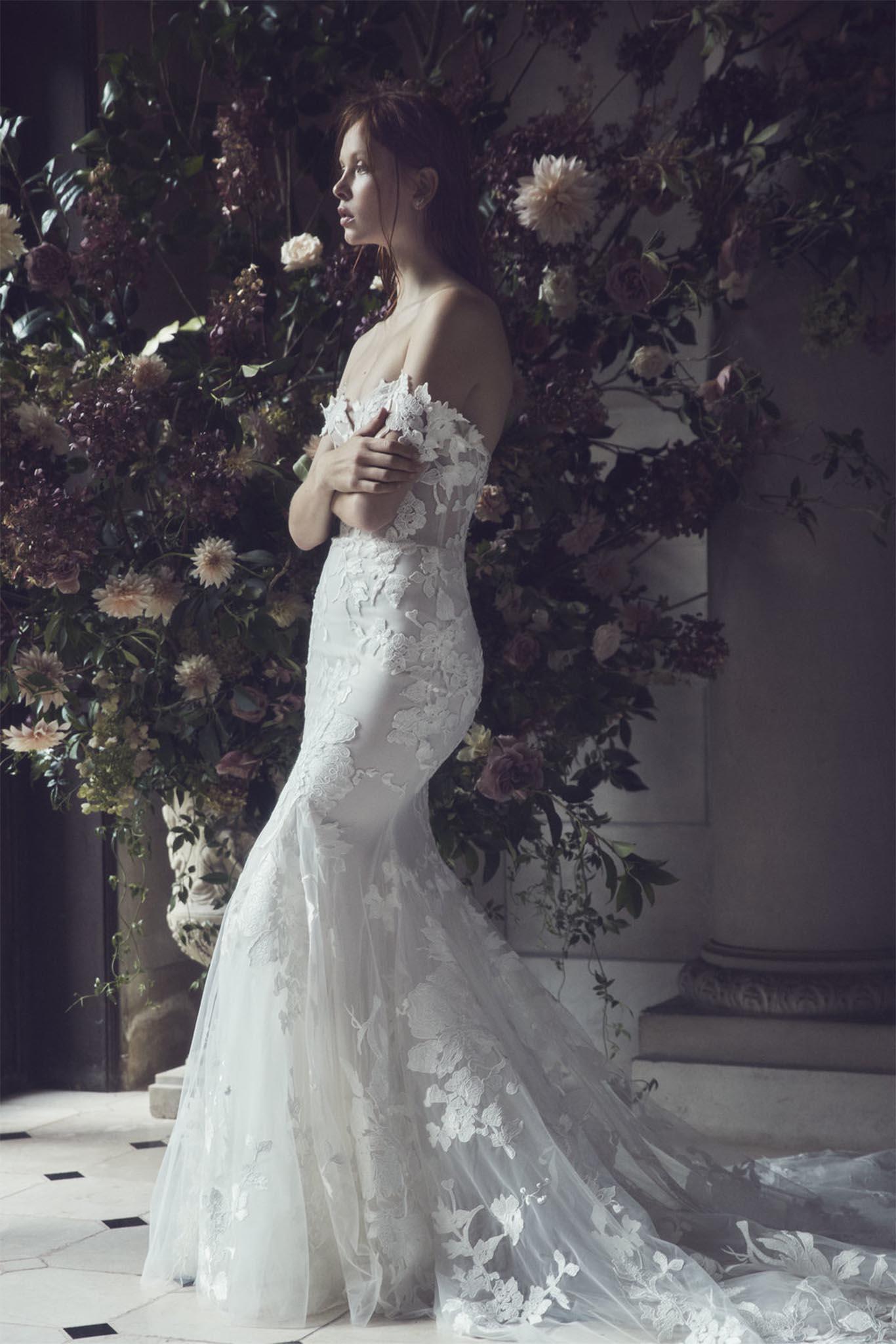 Monique Lhuillier Willow Wedding Dress Browns Bride