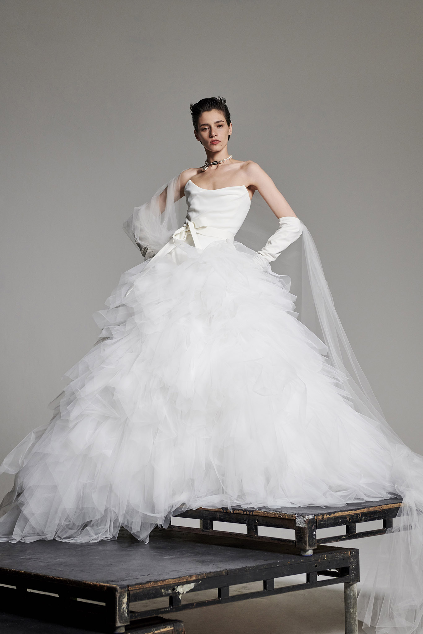 Vivienne Westwood Crystal Wedding Dress Browns Bride